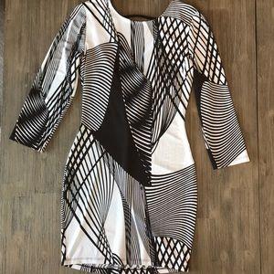 Windsor black and white dress size Medium